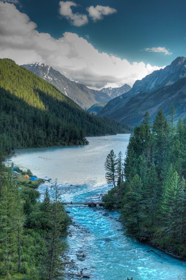 Lago Kucherla immagine stock libera da diritti