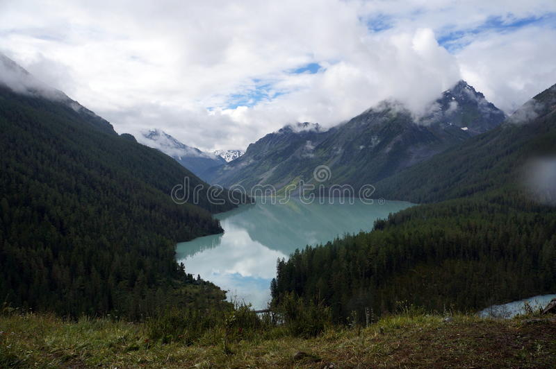 Lago Kucherlinskoe foto de stock royalty free