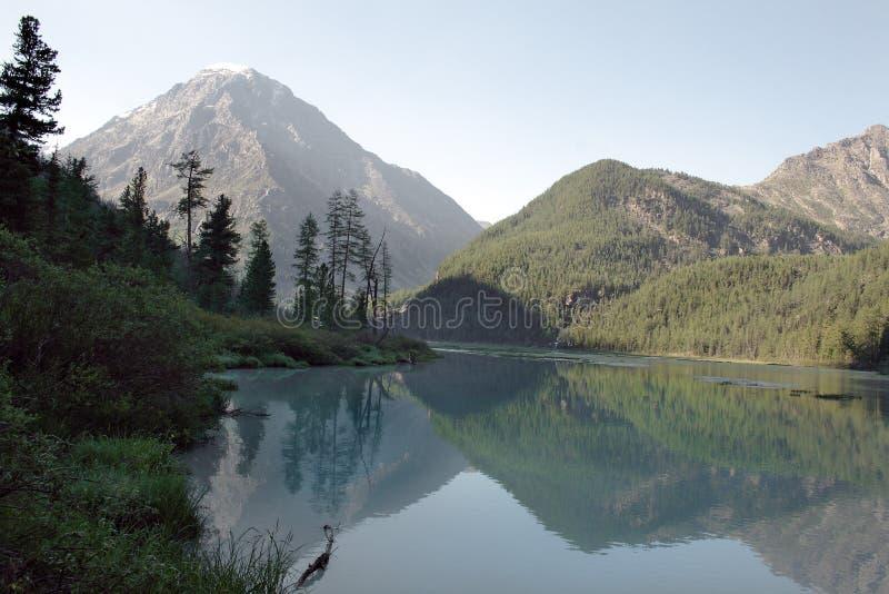 Lago Kucherlinskoe fotografia de stock