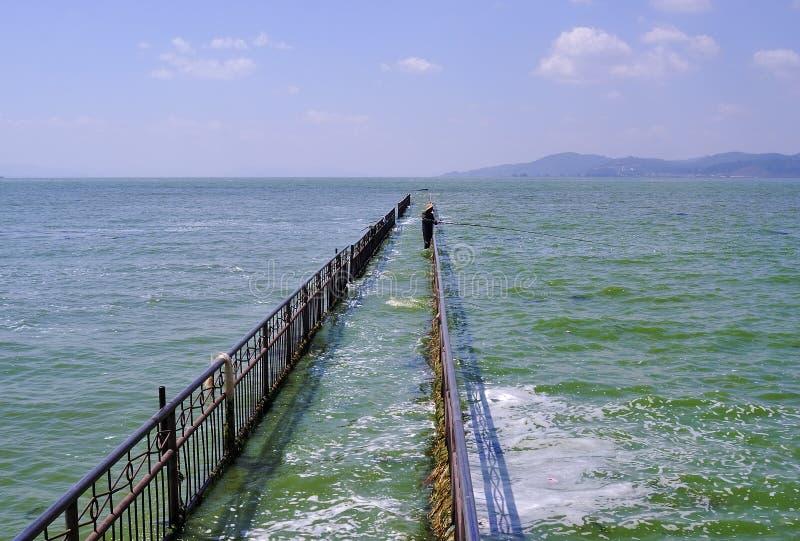 Lago Kunming fotografía de archivo libre de regalías