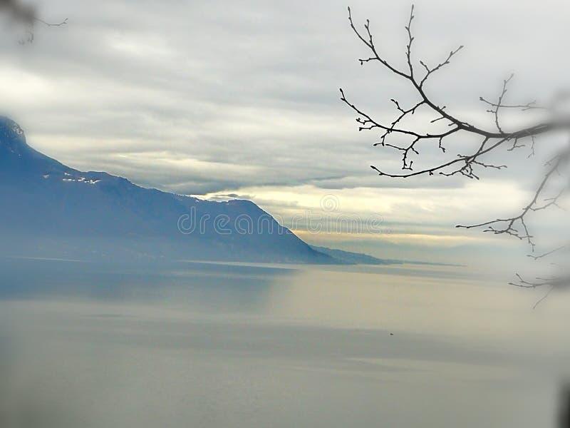 Lago lac fotografie stock