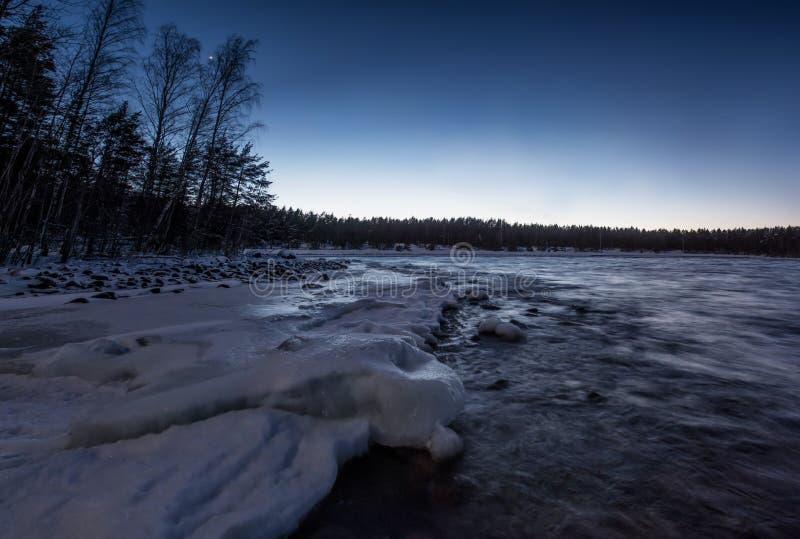 Lago Ladoga fotos de stock royalty free
