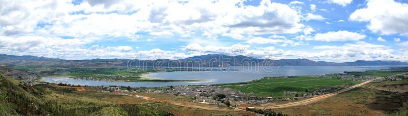Lago - lago Dali Erhai fotos de archivo libres de regalías
