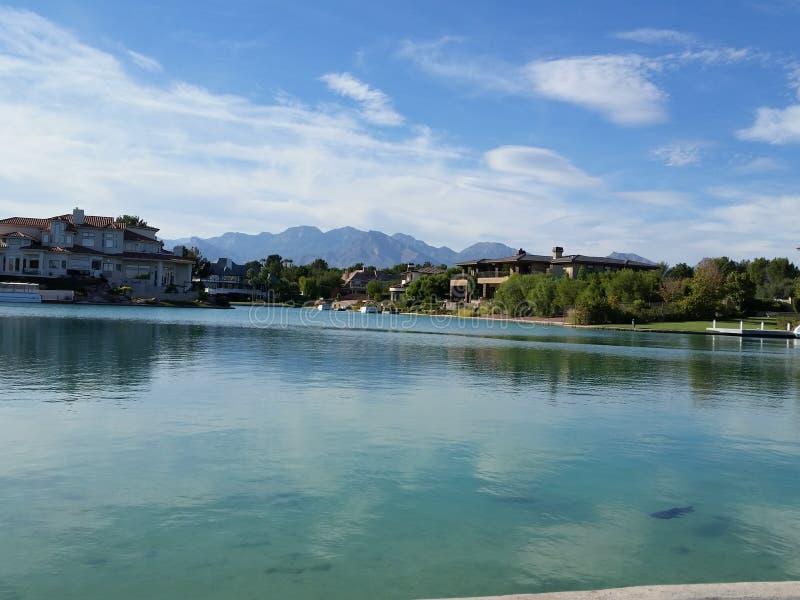 Lago Las Vegas imagenes de archivo