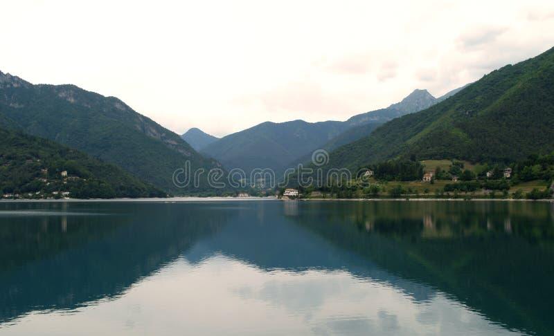 Lago Ledro fotografia stock