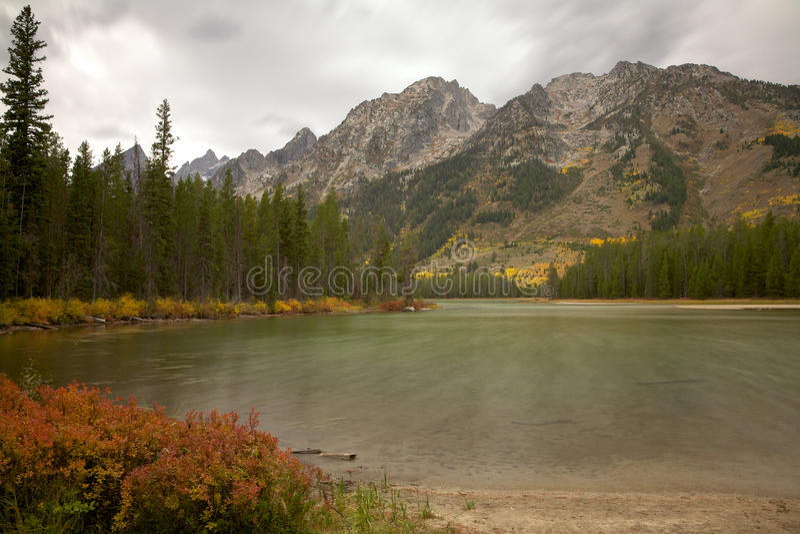 Lago leigh fotografie stock
