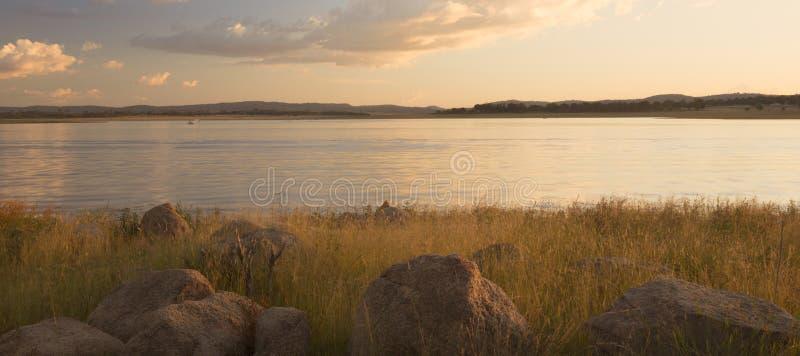 Lago Leslie nel Queensland immagine stock