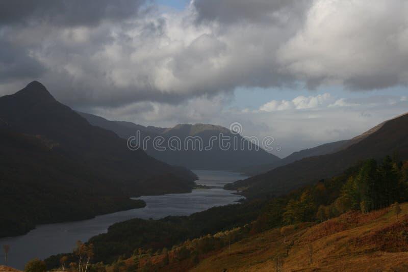 Lago Leven, Escocia foto de archivo libre de regalías