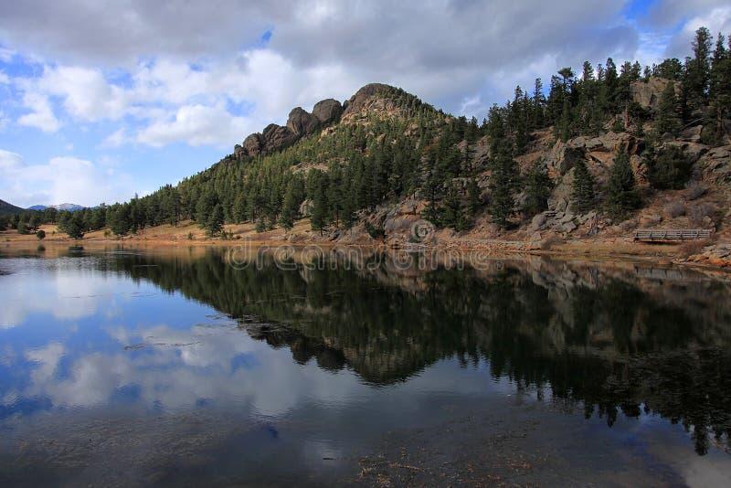 Lago lily, Colorado fotos de archivo
