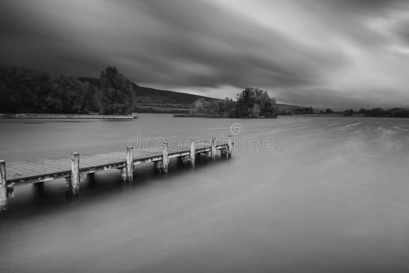 Lago Llangorse imagem de stock royalty free