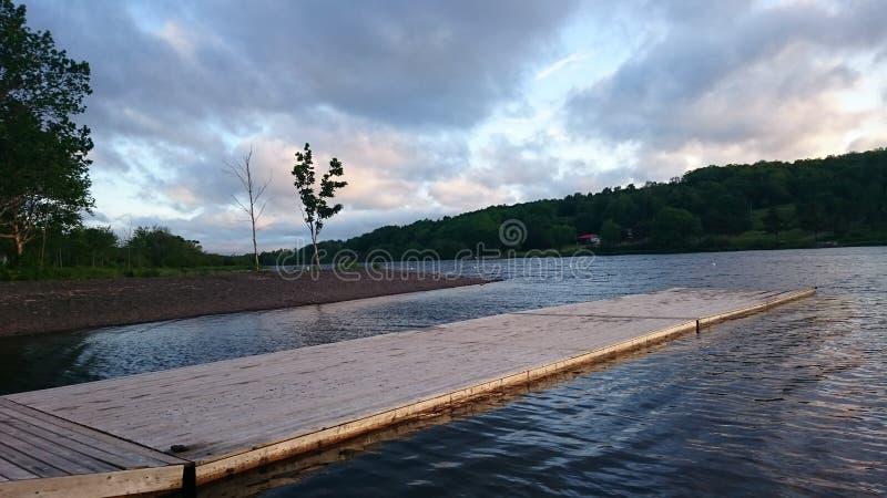 Lago Lochaber, Nova Scotia imagenes de archivo
