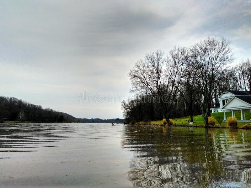 Lago Logan foto de stock
