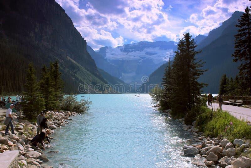 Lago Loise fotografie stock libere da diritti