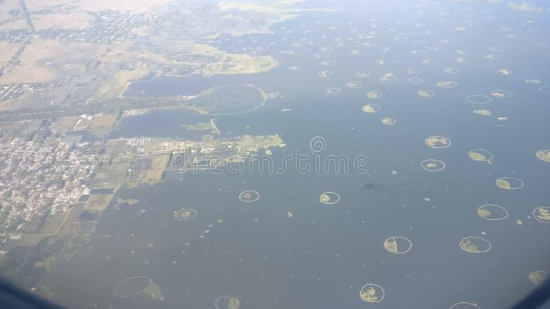 Lago Loktak imagen de archivo libre de regalías