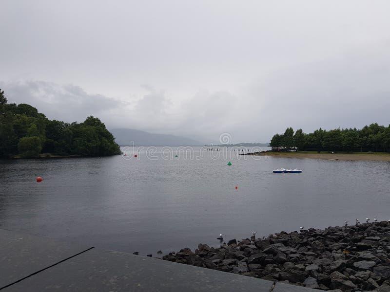 Lago Lommond fotografie stock libere da diritti