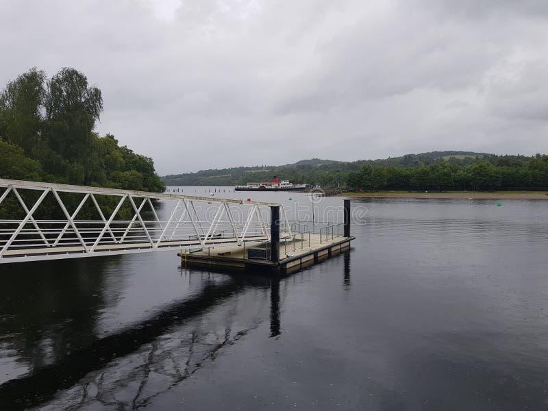 Lago Lommond immagini stock libere da diritti