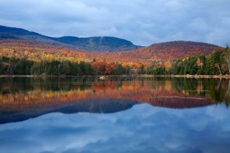 Lago Loon fotografia stock