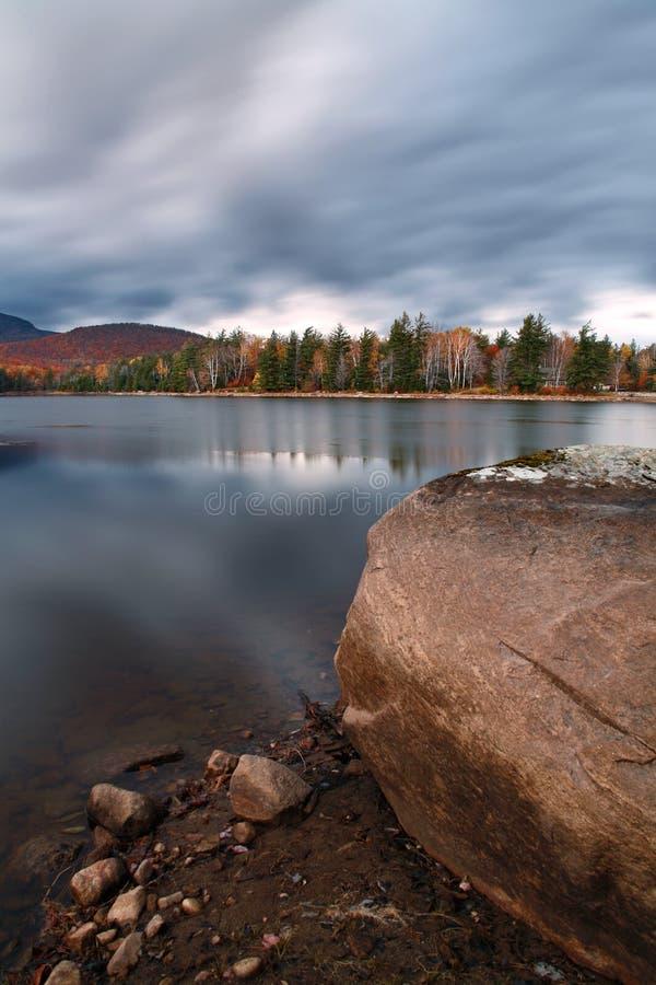 Lago Loon fotografia de stock