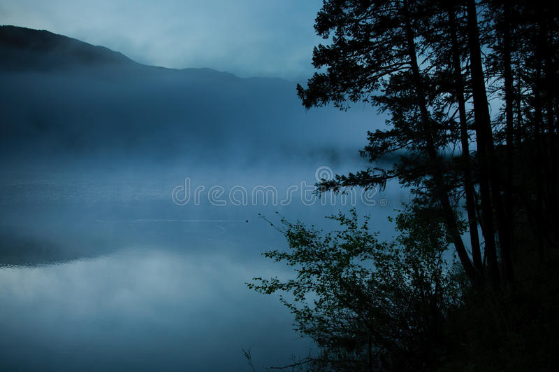 Lago Loon BC fotografia stock libera da diritti