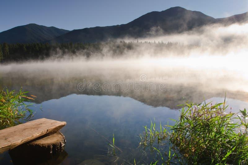 Lago Loon BC fotografia stock