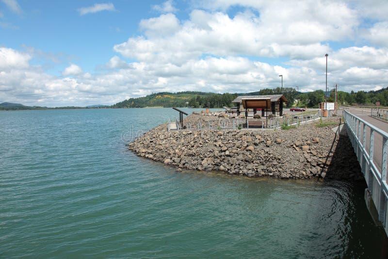 Lago lowell, Oregon. imagen de archivo libre de regalías