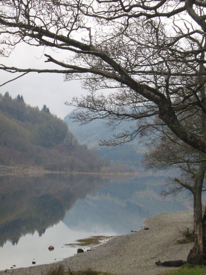 Lago Lubnaig immagine stock libera da diritti