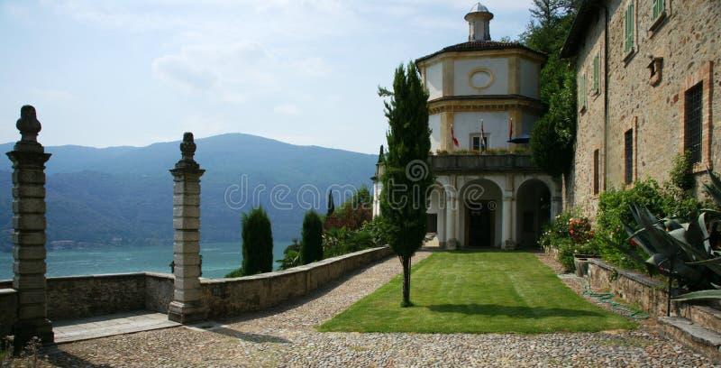 Lago Lugano fotografia stock libera da diritti
