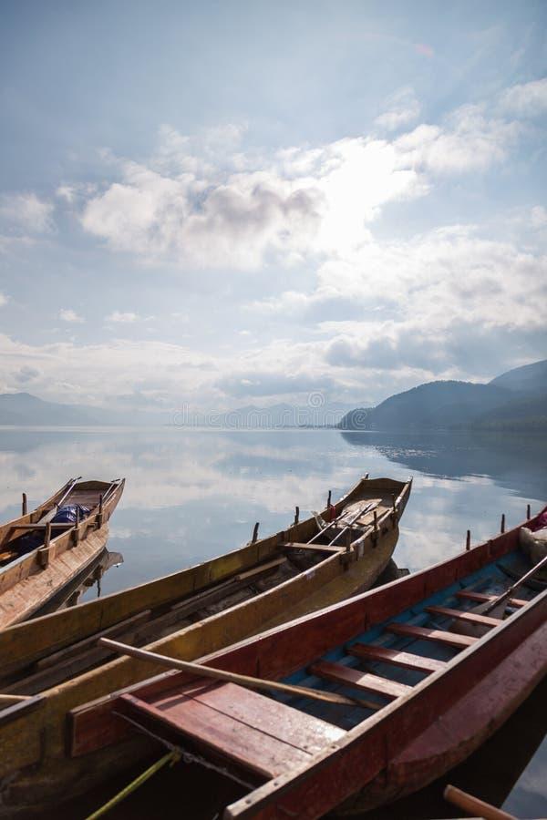 Lago Lugu immagine stock