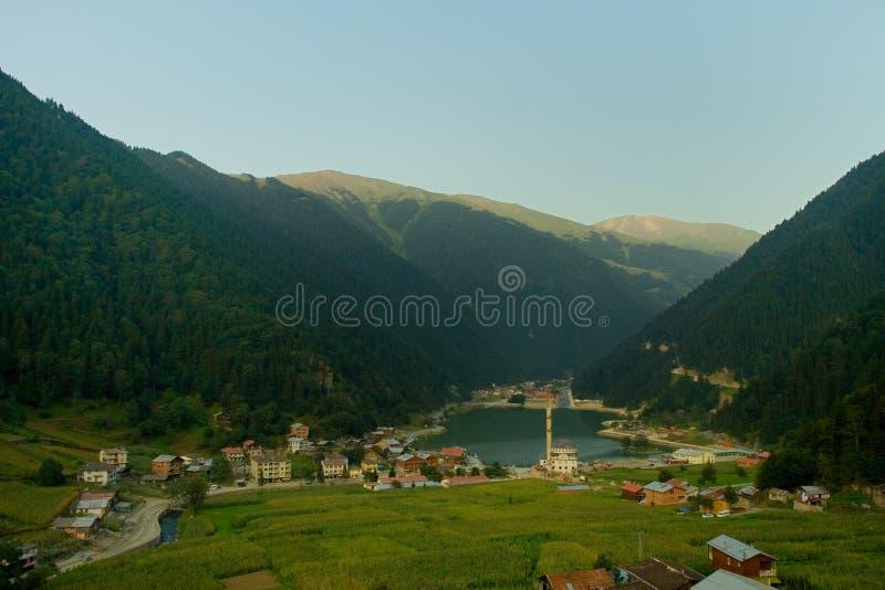 Lago lungo fotografie stock