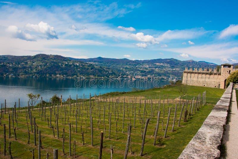 Lago Maggiore obraz royalty free