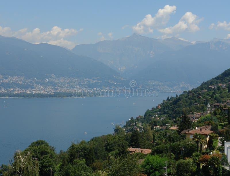 Lago Maggiore fotografia de stock