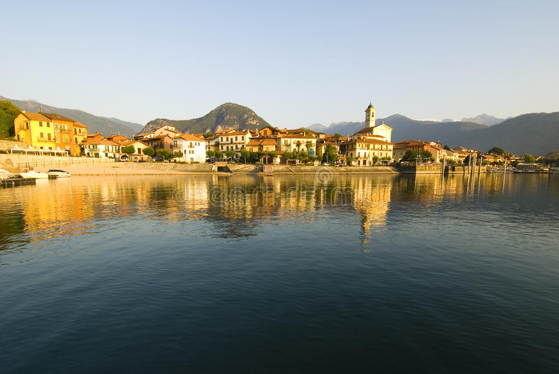 Download Lago Maggiore stock image. Image of reflection, europe - 15772345