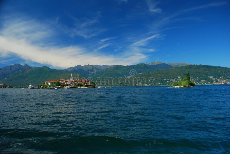 Lago Maggiore, dei Pescatori de Isola. fotos de stock