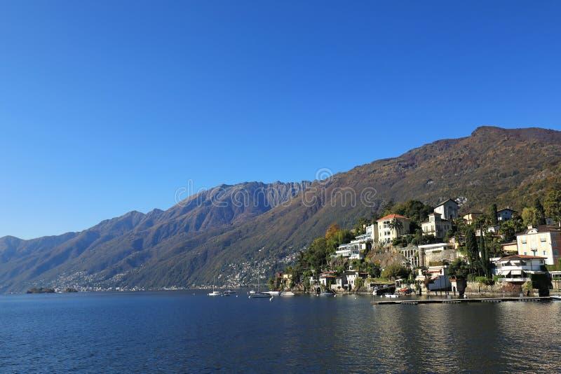 Lago Maggiore e Ascona fotos de stock royalty free