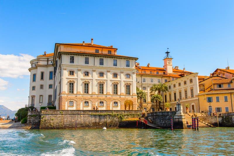 Lago Maggiore, Italy. ISOLA BELLA, ITALY - MAY 3, 3016: Bella Island, one of the Borromean Islands of Lago Maggiore in north Italy royalty free stock images