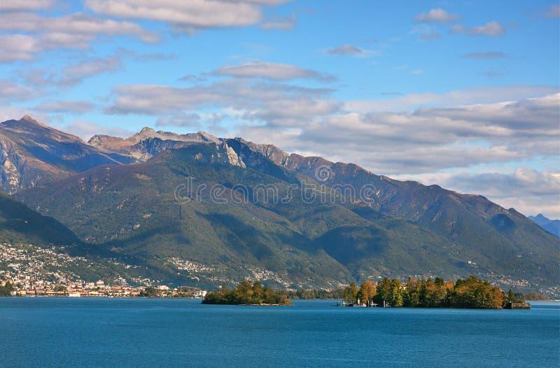 Lago Maggiore, Switzerland. foto de stock