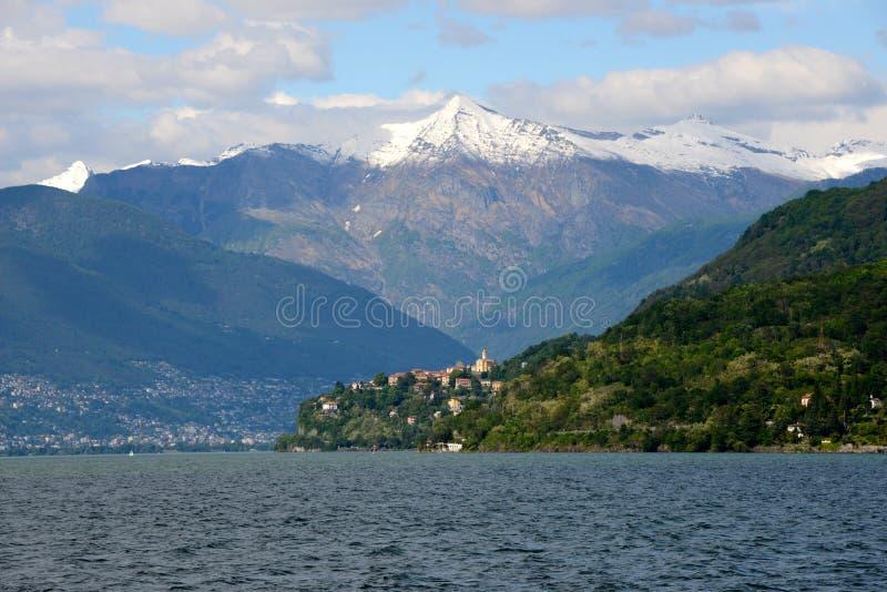 Lago Maggiore zdjęcia stock