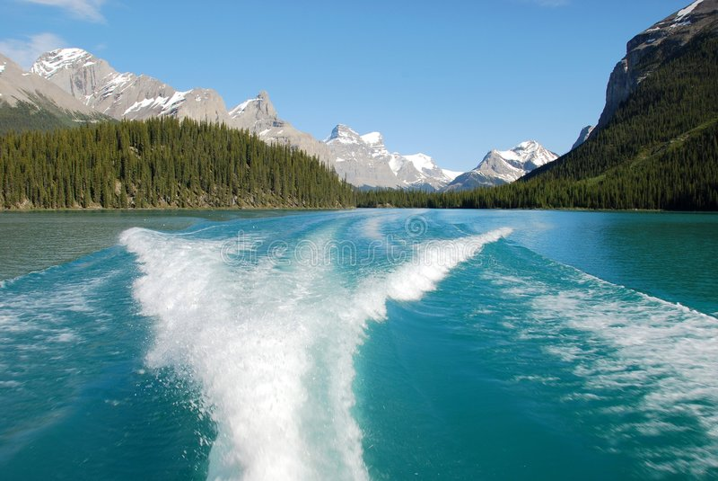 Lago Magline foto de archivo libre de regalías