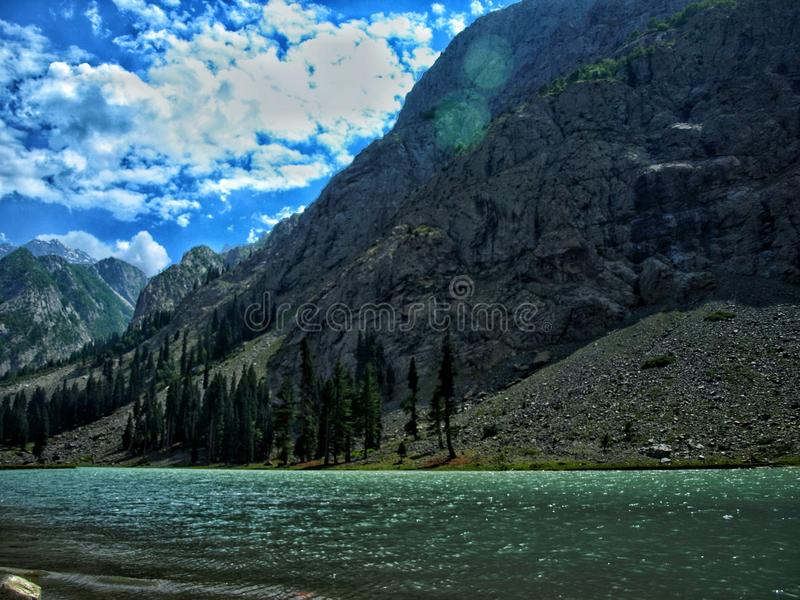Lago Mahodand imagens de stock