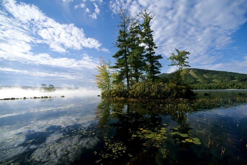 Lago maine fotografia stock libera da diritti
