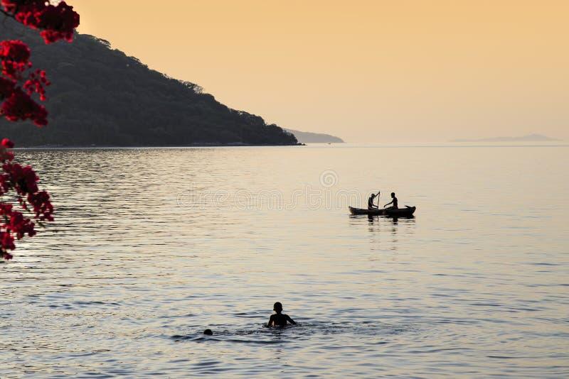 Lago Malawi immagine stock libera da diritti