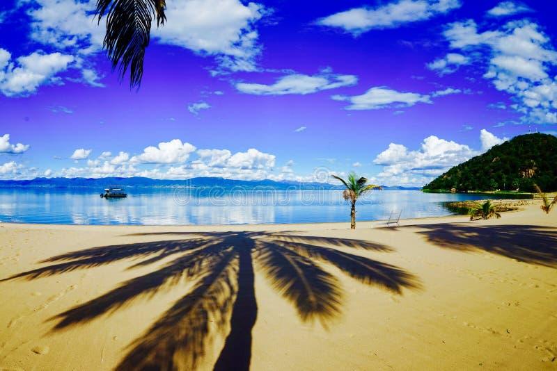Lago Malawi immagine stock