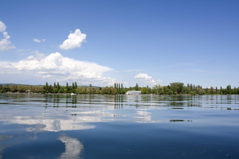 Lago, mar imagen de archivo