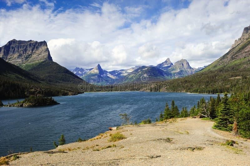 Lago Mary de Saint imagem de stock royalty free