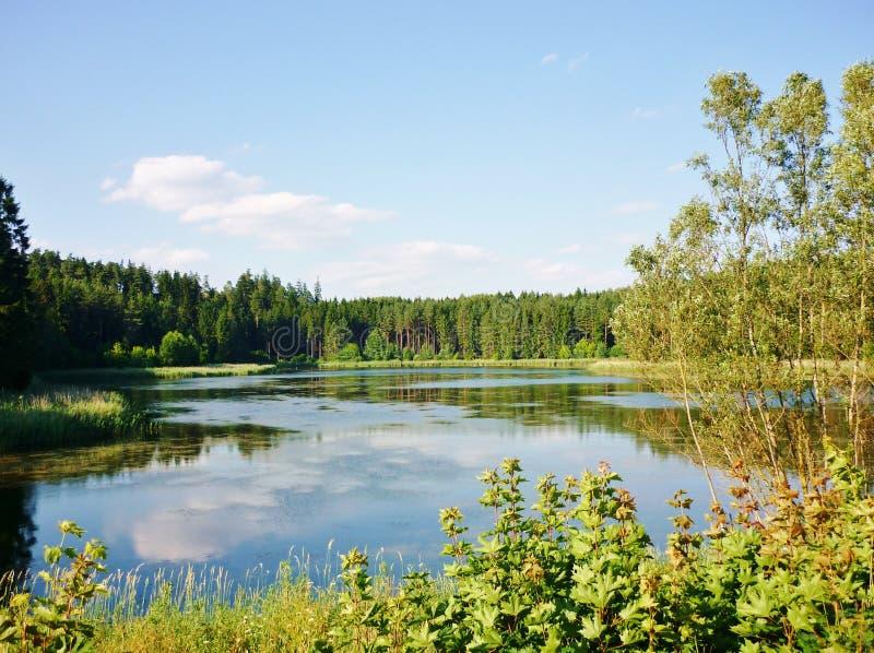 Lago 1 Masurian immagini stock