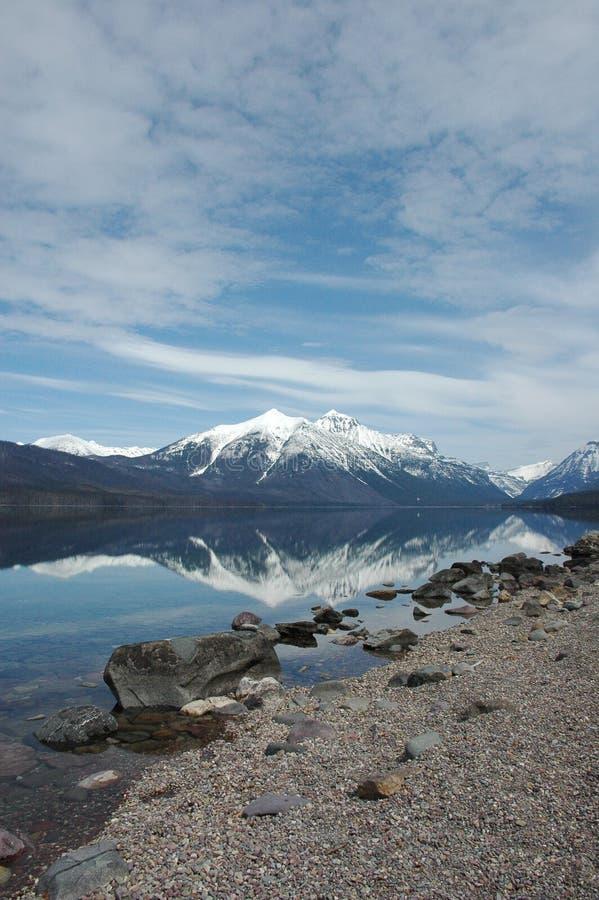 Lago McDonald fotografia de stock