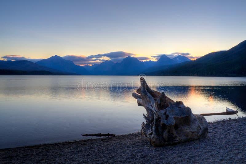Lago McDonald immagini stock