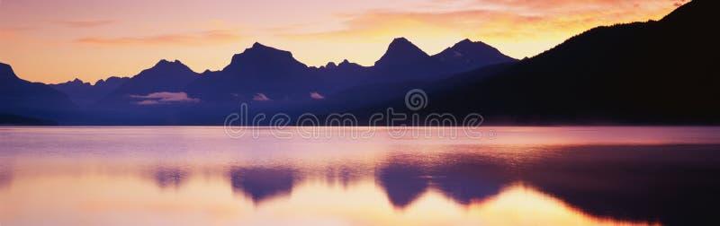 Lago McDonald foto de archivo libre de regalías