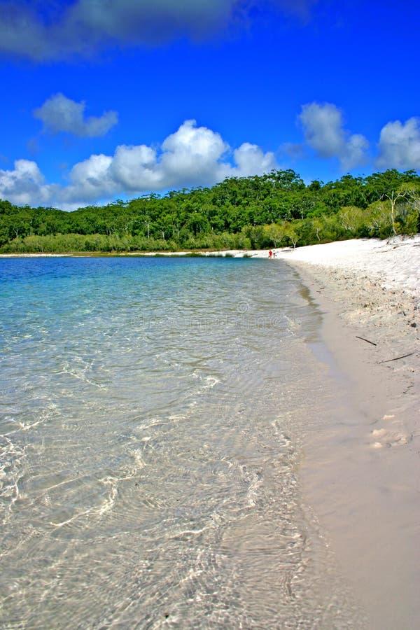 Lago McKenzie, isola di Fraser, Australia immagine stock