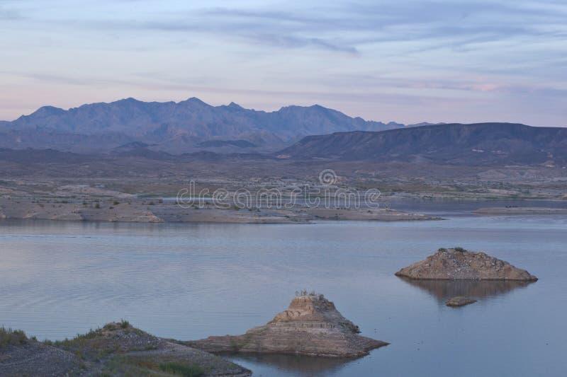 Lago Mead-02 immagini stock